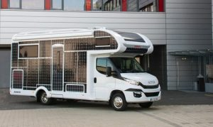alquiler de autocaravana Capuchina solar