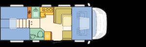 Distribución interior Capuchina