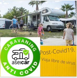 Caravaning, libre de Covid19
