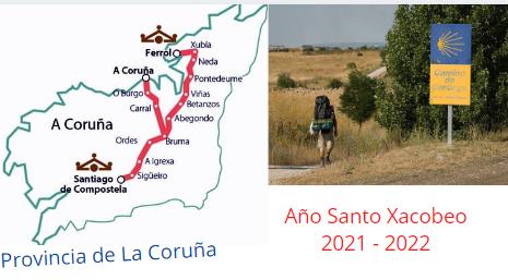 Camino de Santiago Inglés