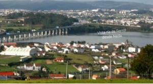 ría de Ferrol desde Neda