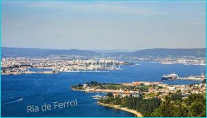 Camino de Santiago Inglés desde ría de Ferrol.