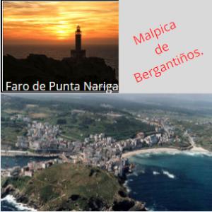 Camino de Santiago y ruta de los faros, Malpica.