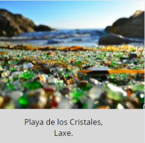 playa de Los Cristales, Laxe.
