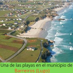 playa en Barreiros (Lugo)