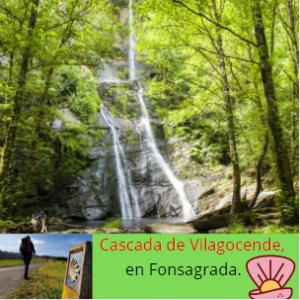Cascada de Vilagocende.