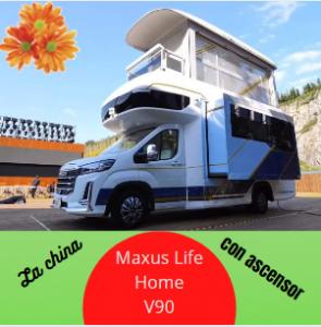 Novedades caravaning: Maxus Life Home V90