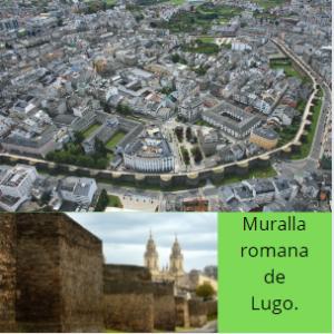 Camino de Santiago Primitivo, muralla romana de Lugo.