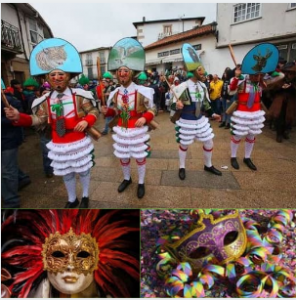 Carnaval de Laza en la ruta de la Plata.