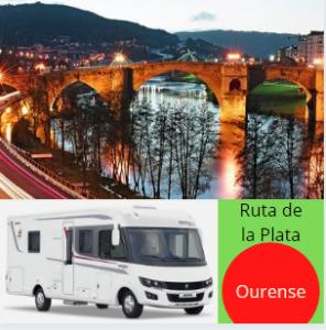 Camino de Santiago: ruta de la Plata. Ourense.
