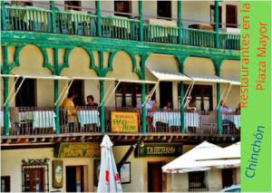 Restaurantes en la Plaza Mayor de Chinchón