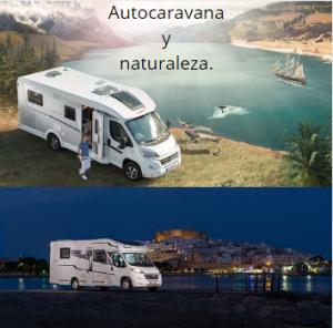 autocaravana y naturaleza
