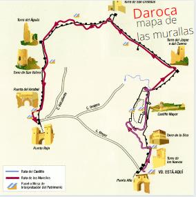 Pueblos con encanto en autocaravana: Daroca